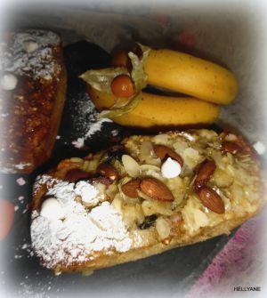 """Recette Moelleux aux bananes, cerises, raisins secs et aux céréales """"sans gluten"""""""