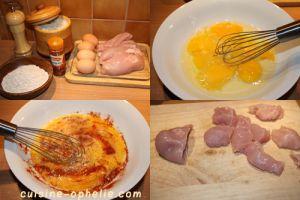 Recette Nugget de poulet au son d'avoine – 192 kcal