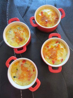 Recette Frittatas aux petits légumes du soleil