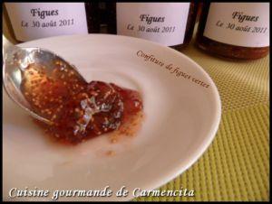 Recette Confiture de figues vertes (blanches) fraîches
