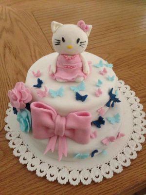Recette Premier gâteau pâte a sucre