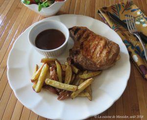 Recette Côtelettes de porc grillées, sauce barbecue