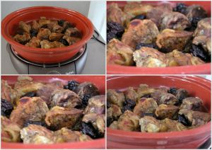 Recette Tajine de veau aux pruneaux avec la tajine Téfal