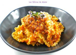 Recette Sauce pour pâtes à la saucisse italienne