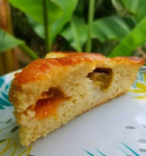 Recette Gâteau à la crème et aux prunes