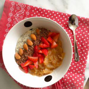 Recette Porridge sarrasin chia