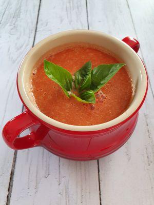 Recette Velouté aux tomates rôties