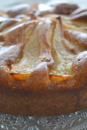 Recette Gâteau à la poire