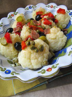 Recette Salade de chou fleur à la napolitaine