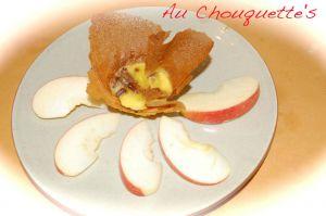 Recette Feuilleté camembert lardons