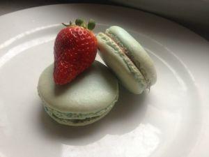 Recette Macarons nutella fraise et nutella banane