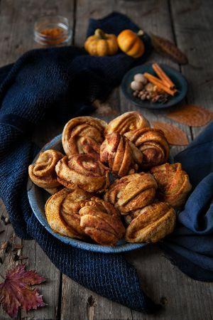 Recette Pumpkin spice mini rolls