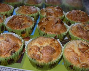 Recette Muffins aux canneberges
