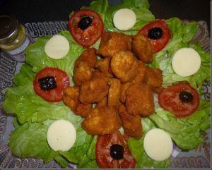Recette Nuggets au poulet et soja ( recette Rapide)