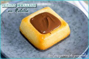 Recette Petits moelleux au Nutella