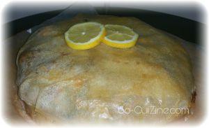 Recette Pastilla aux fruits de mer