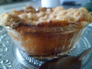 Recette Crumble de pommes