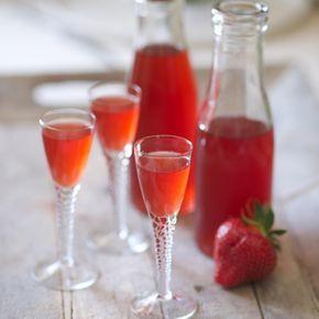 Recette Vin de fraises