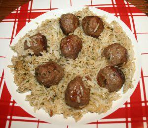 Recette Boulettes de boeuf au riz COOKEO