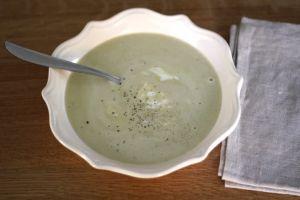 Recette Potage d'asperges vertes