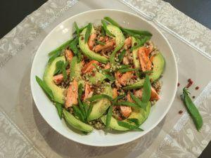 Recette Salade de sarrasin au saumon et à l'avocat