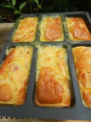 Recette Cake camembert lardons