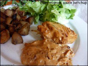 Recette Filet mignon de porc sauce ketchup