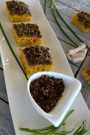 Recette Pesto aux herbes fraîches du printemps