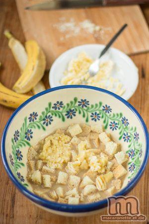 "Recette Pudding Brioche - Banane - Baileys dit ""3 b"""