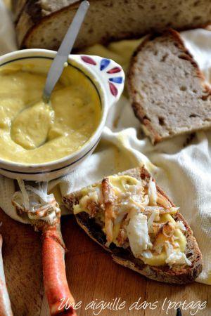 Recette Mayonnaise spéciale crabe