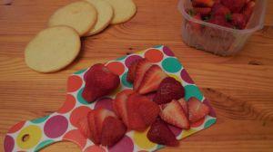 Recette Sablés aux fraises