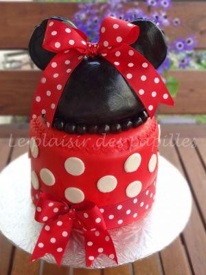 Recette Gâteau d'anniversaire  Minnie Mouse