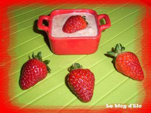 Recette Mousse de fraises