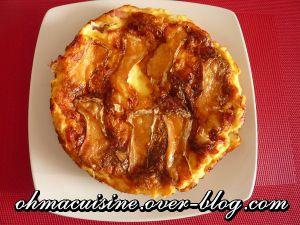 Recette Quiche sans pâte au camembert et lardons