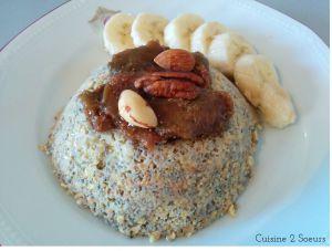 Recette Bowlcake aux figues et graines de chia