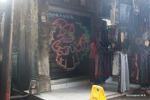 Recette Street-art à Bali