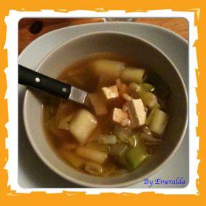 Recette Soupe japonaise à moi