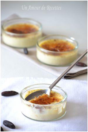 Recette Crèmes brûlées à la fève tonka