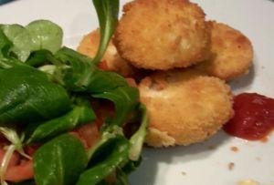 Recette Nuggets de poulet faciles trop bon