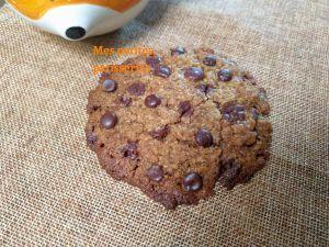 Recette Maxi cookies coco chocolat