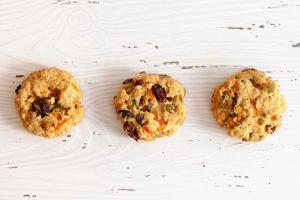Recette Biscuits aux carottes et aux flocons d'avoine