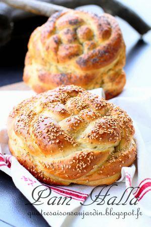 Recette Pain Halla ou pain de Shabbat