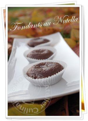 Recette Fondants au Nutella®