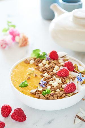 Recette Smoothie bowl à la mangue
