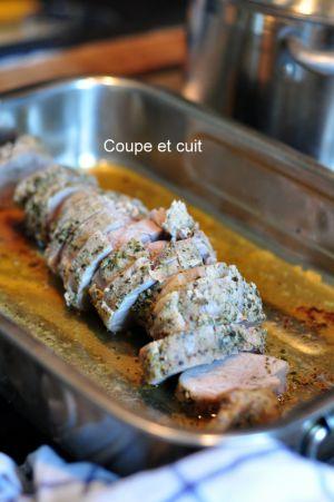 Recette Filet mignon de porc au pesto