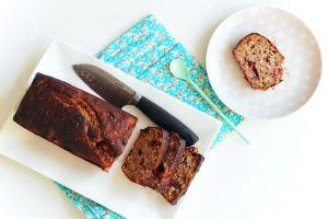 Recette Cake aux fraises et muesli