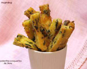 Recette Polenta, polentine de Silvia ou frites de polenta