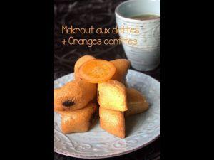 Recette Des makrouts (dattes et orange)
