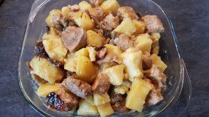 Recette Rouelle de porc aux pommes de terre au Cookéo