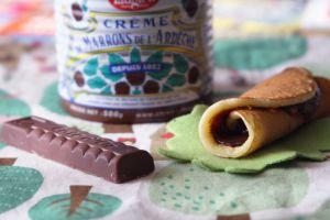 Recette Pâte à tartiner chocolat et marrons